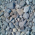 ROCKS ON LAKE MICHIGAN by BonaParte
