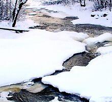 Winter Rapids by Ritva Ikonen