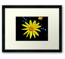 A Splash of Sunshine Framed Print