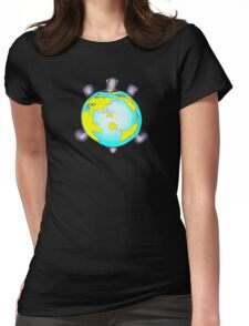 Turtle World Womens Fitted T-Shirt