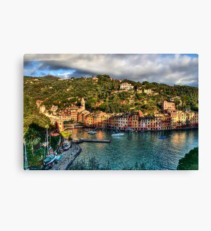 Portofino Paint  two Canvas Print