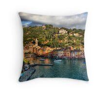 Portofino Paint  two Throw Pillow