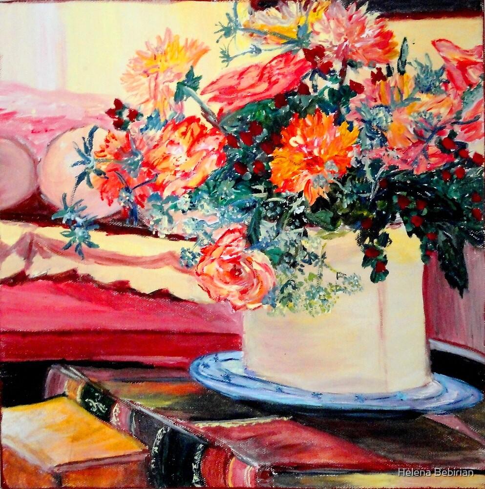 The Poet's Books by Helena Bebirian