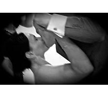 The First Dance, the Kiss...... Photographic Print