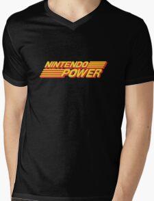 Nintendo Power Logo Mens V-Neck T-Shirt