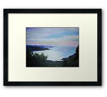 Gokova Gulf: Plain of the Sky    Framed Print