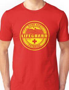 Dune Sea Lifeguard [Yellow Distressed] Unisex T-Shirt