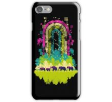 Retro Jungle iPhone Case/Skin