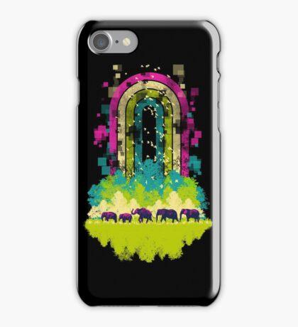 Retro Jungle iPhone Case/Skin