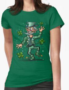 Leprechaun Womens Fitted T-Shirt