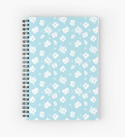Cute White Teeth Spiral Notebook