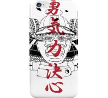 Edo Samurai Helmet iPhone Case/Skin