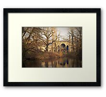 Berlin zoo Framed Print