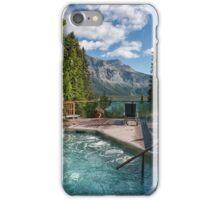 Emerald Lake, Emerald Hot Tub iPhone Case/Skin