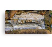 Stone Wall Arch photo painting Canvas Print