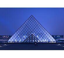 Paris Le Louvre by night Photographic Print