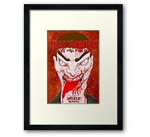 Flesh Feasters movie poster Framed Print