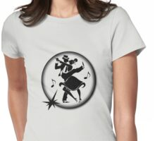 The Call of the Jitterbug  Womens Fitted T-Shirt