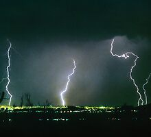 North Scottsdale  Arizona Lightning  View by Bo Insogna