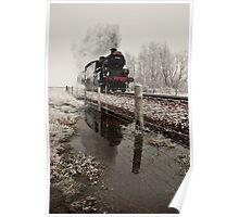 Central Scotland railway line Poster