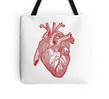 Human Anatomy Heart Tote Bag