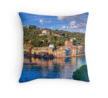 portofino paint five Throw Pillow