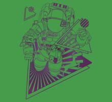 Spaceman lost in deep Cosmos Kids Tee