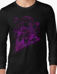 Spaceman lost in deep Cosmos Long Sleeve T-Shirt