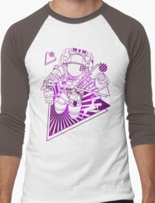 Spaceman lost in deep Cosmos Men's Baseball ¾ T-Shirt