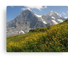 Switzerland - Eiger and Mönch Canvas Print