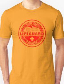 Dune Sea Lifeguard [Red Distressed] T-Shirt