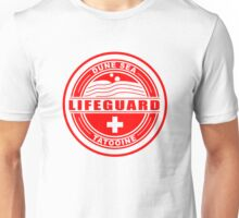 Dune Sea Lifeguard [Red Normal] Unisex T-Shirt