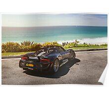 Porsche 918 Spyder in Southern California Poster