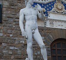 Michelangelo's David by Keith Sutherland