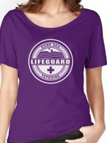 Dune Sea Lifeguard [White Normal] Women's Relaxed Fit T-Shirt