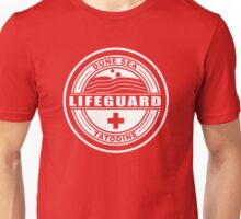 Dune Sea Lifeguard [White Normal] Unisex T-Shirt