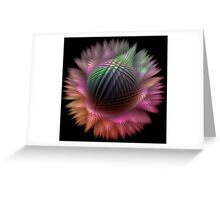 Rainbow Puff Greeting Card