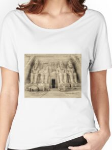 Abu Simbel Antiqued Women's Relaxed Fit T-Shirt