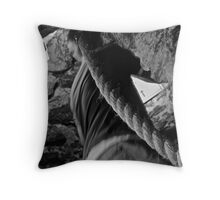 Climbing - Blarney Castle Throw Pillow