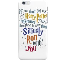Harry Potter References iPhone Case/Skin