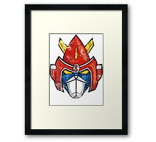 V-Head Framed Print
