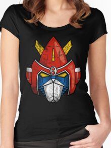 V-Head Women's Fitted Scoop T-Shirt