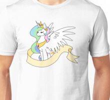 Princess Sun Butt - Plain Banner Version Unisex T-Shirt
