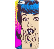Shocking Retro iPhone Case/Skin