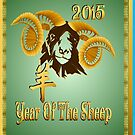 Year Of The Sheep-gold spiral by Lotacats