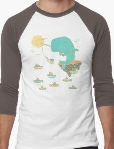 Gone Shipping Men's Baseball ¾ T-Shirt