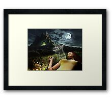 Witch's Way Framed Print