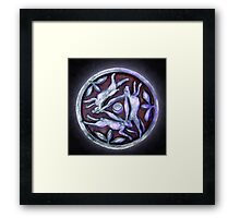 Hare Cycle Framed Print