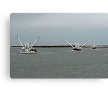 Commercial Fishing Boats Canvas Print