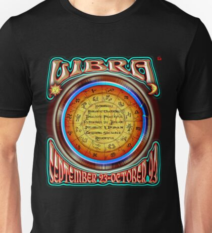 ASTROLOGY= LIBRA Unisex T-Shirt